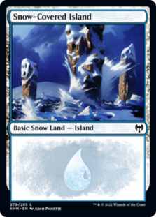 Snow-Covered Island